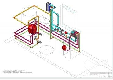 Проектирование систем отопления, кондиционирования и вентиляции.